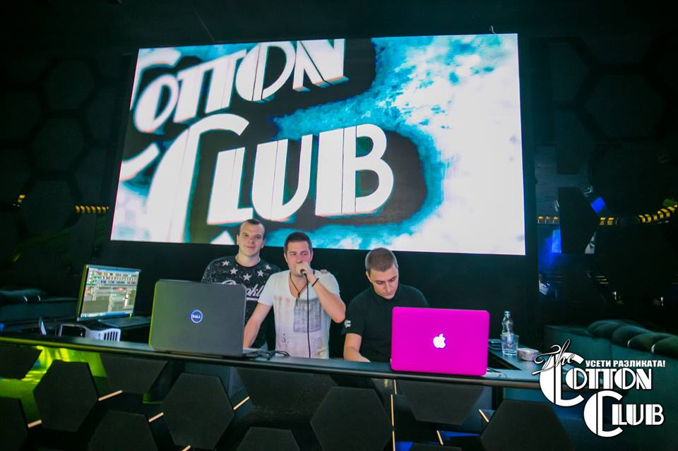 LED екран Cotton club